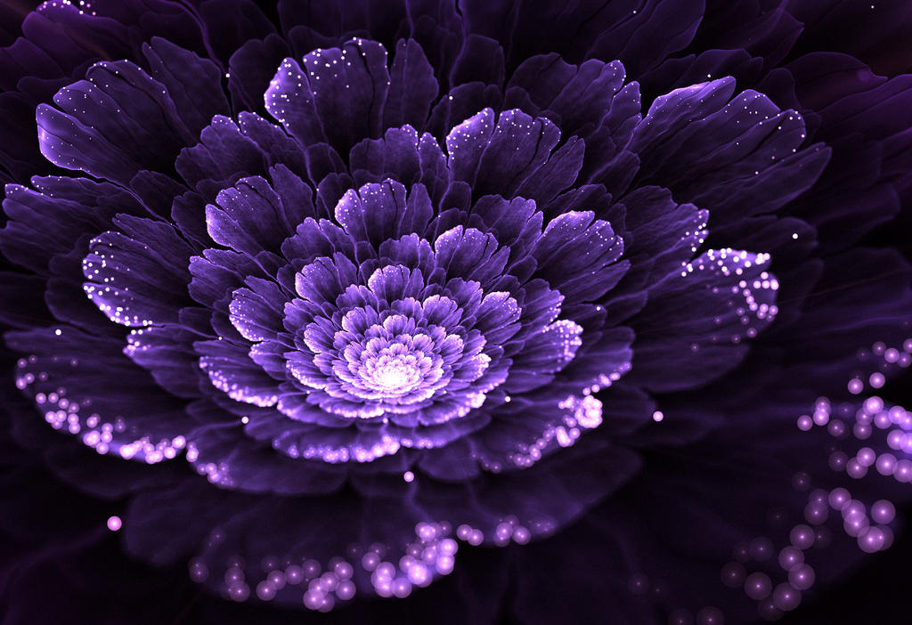 Just purple. by Kondratij
