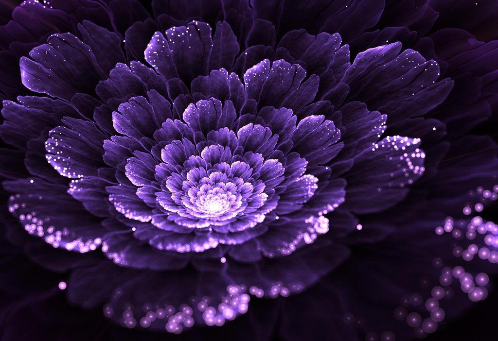 Just purple. by Kondratij