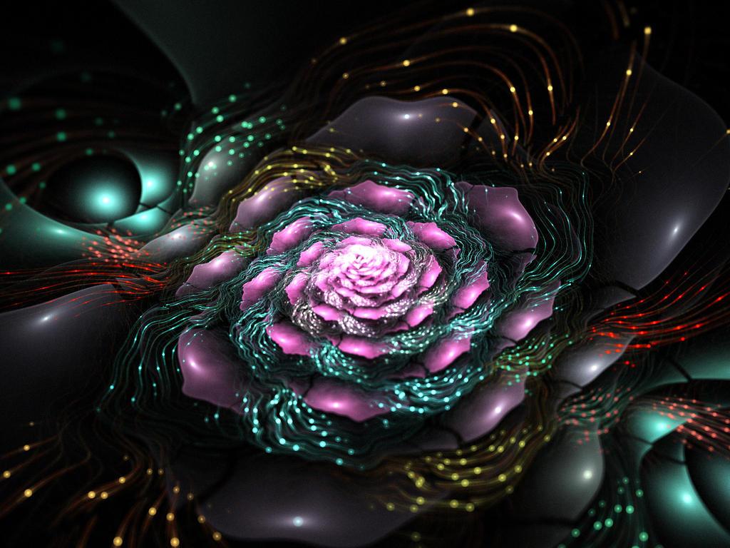 Electrical rose. by Kondratij
