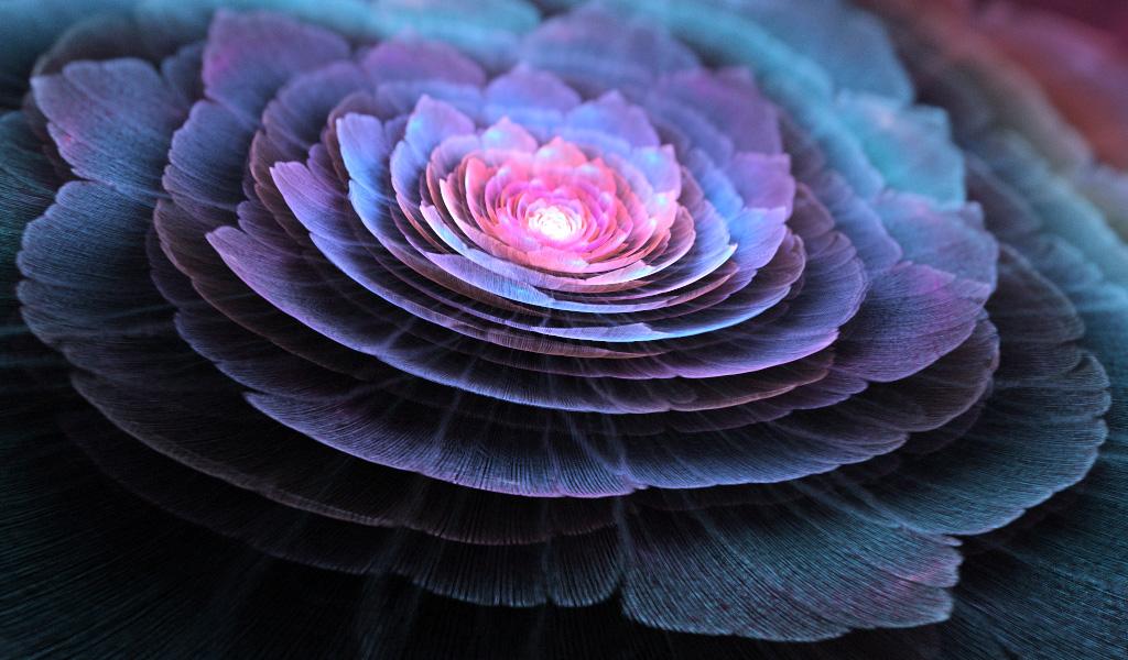 Blue lotus. by Kondratij