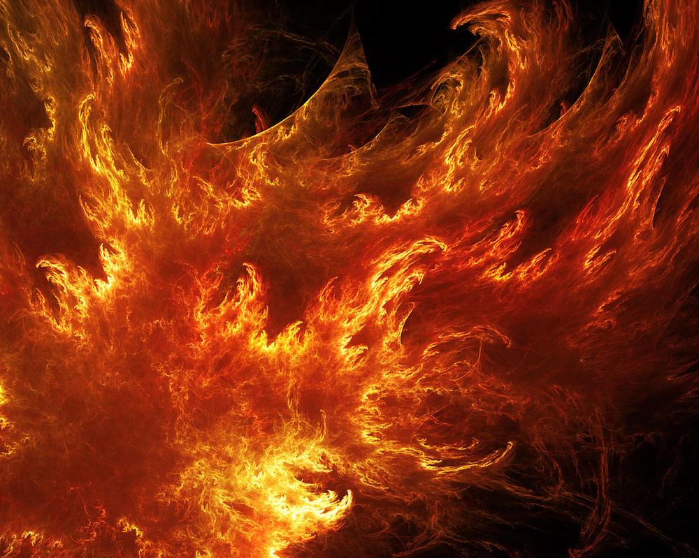 Fiery Madness. by Kondratij