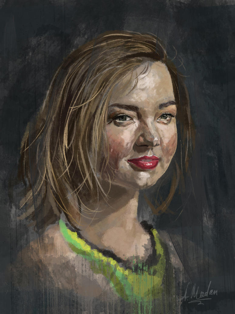 Miranda Kerr by caracurt86