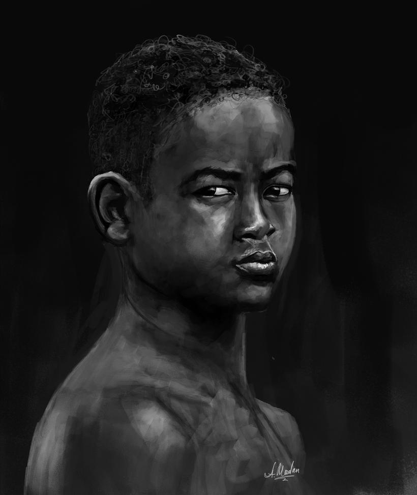 African Kid by caracurt86