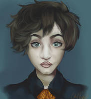 Self Portrait by CleoNova