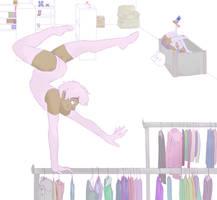 Thrift Store Shenanigans by CleoNova