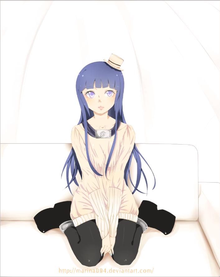 Loli - HINATA (Naruto) + Speed Paint by marina094