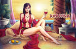 Prince of Persia - Kaileena by shrouded-artist