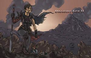 Dragon Age 2: Lady Hawke by shrouded-artist