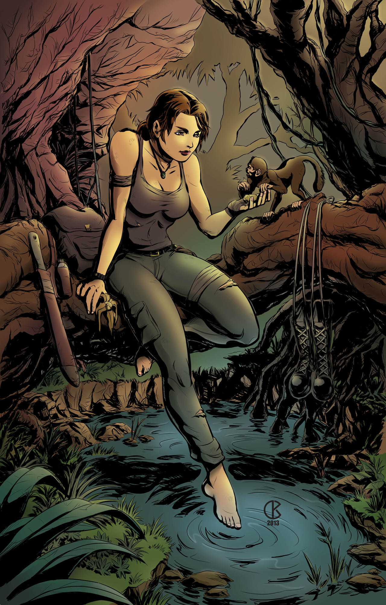 Tomb Raider Reborn - Contest Entry by shrouded-artist