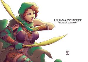 Leliana - Concept 3
