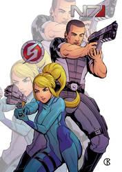 Samus and Shepard