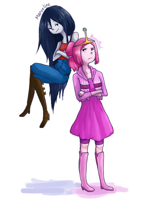 PB and Marceline by dAurelie