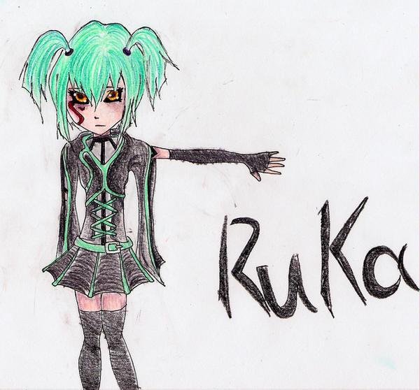 Dark Signer Ruka by all-natural-me
