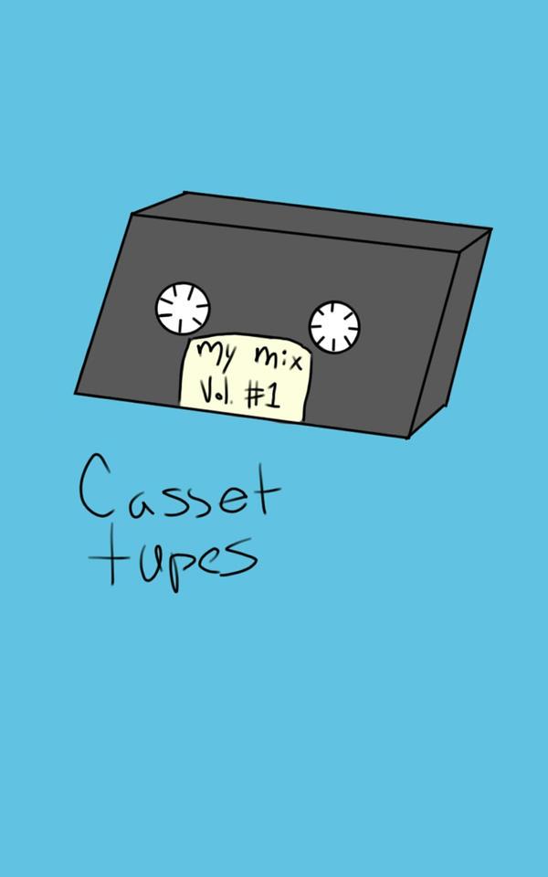 A casset tape by KatSharks12