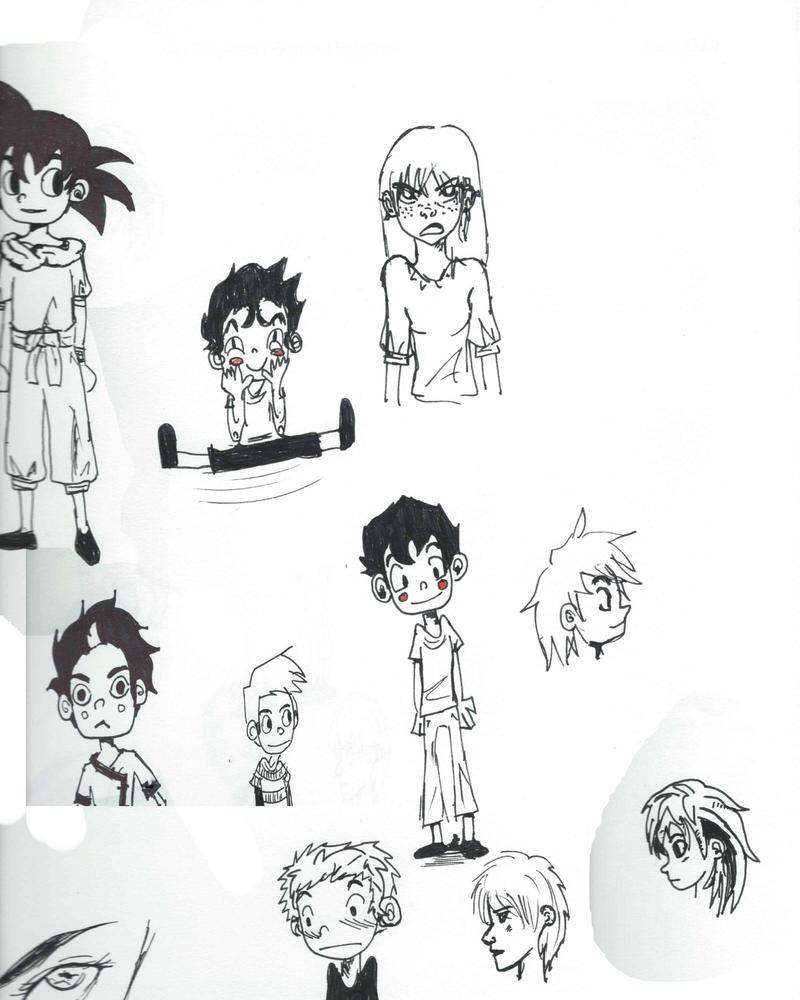 Doodles by EndlessDestiny