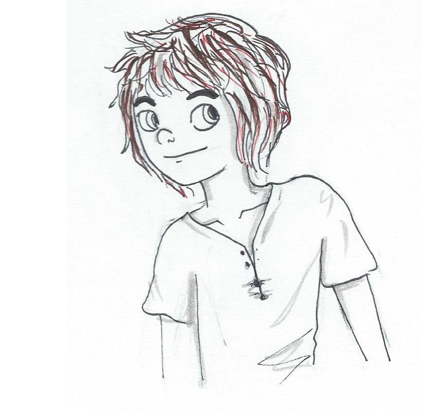 NaNo Sketch: Noah by EndlessDestiny