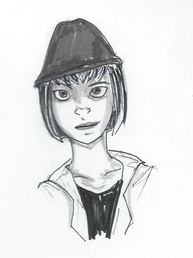 NaNo Sketch Lucy by EndlessDestiny