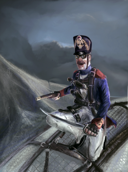 Vieille Garde aviateur