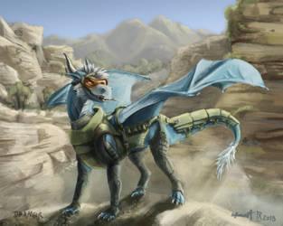 Diamond dragon! by Drangir