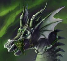 Norse dragon chief