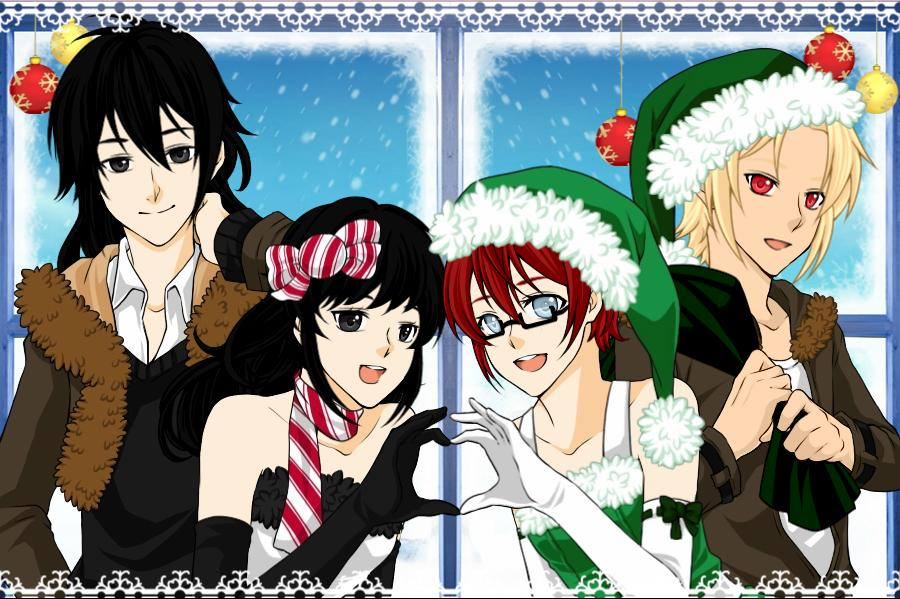 Creepypasta Christmas by LoveYouSasuNaru on DeviantArt