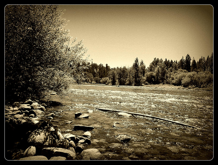 along the Spokane river 23 by crimsonravenwarrior