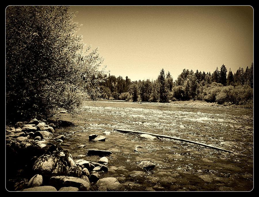 along the Spokane river 23 by crimsonravenwarrior
