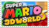 Super Mario 3D World Stamp by Team-Lava