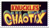 Knuckles' Chaotix Stamp by Team-Lava