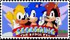 Sega Sonic Arcade Stamp by Team-Lava