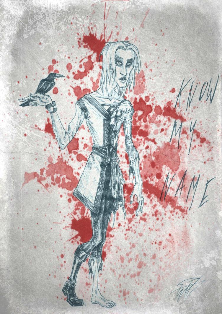 The Ghost Of Winterfell by Soulstripper
