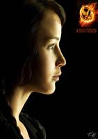 Katniss Everdeen Painting by eliselikesart