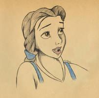 Belle by eliselikesart