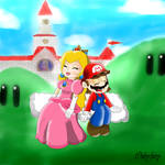 Mario and Peach always together