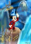 Mickey The Sorcerer's Apprentice