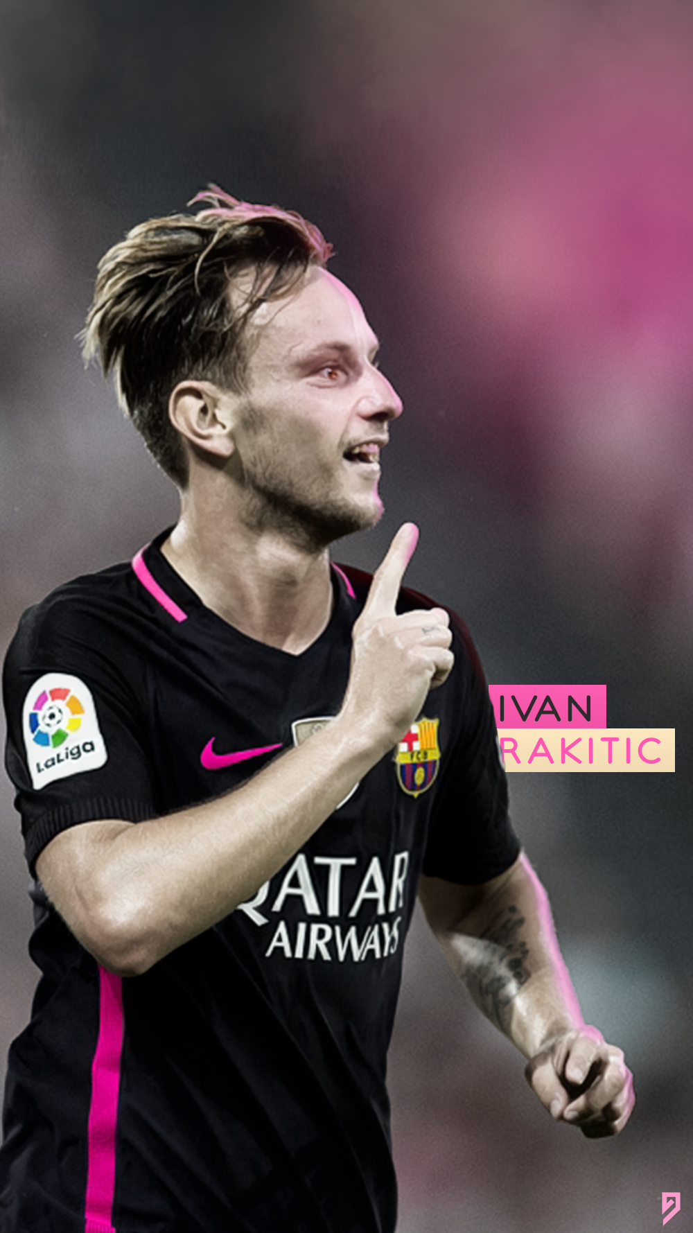 Ivan Rakitic Lock Screen Wallpaper by abgrafix96 on DeviantArt