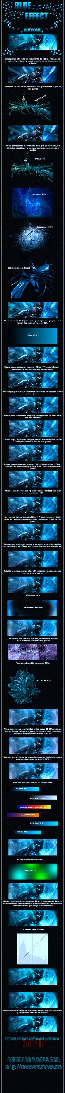 Blue Effect by Rey94Design