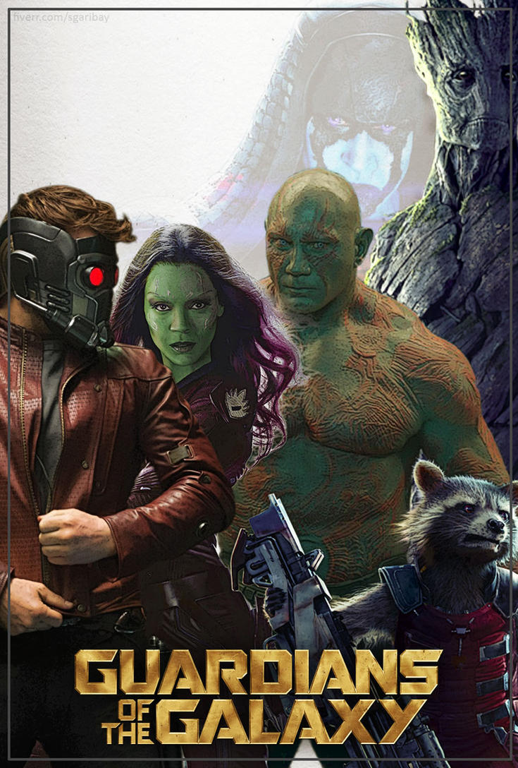GG01 Guardians of the Galaxy (2014) by eliwingz