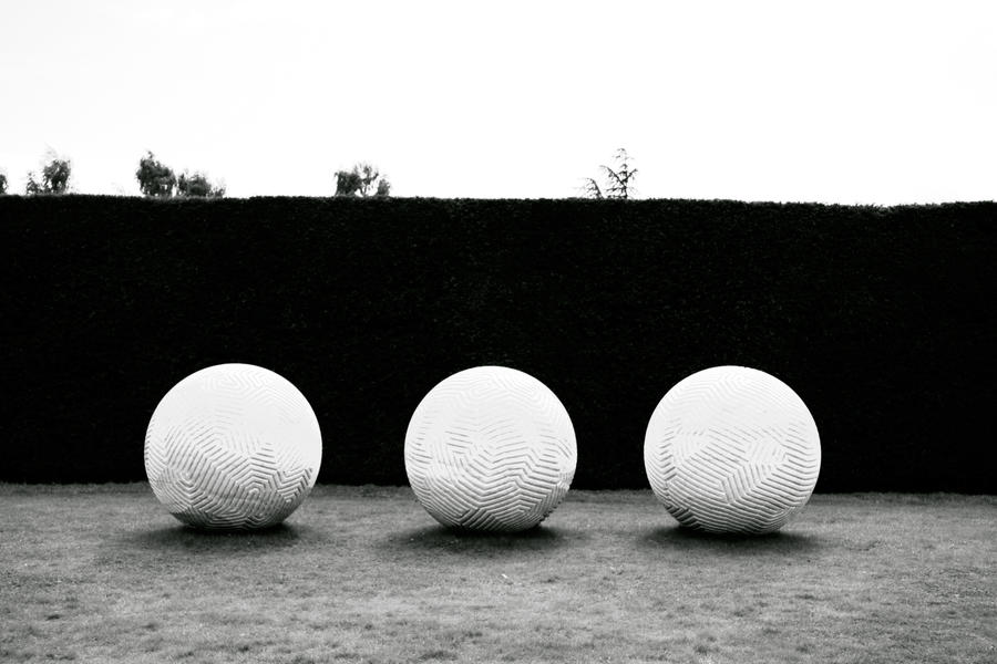 Three Spheres by Distorted-Colours