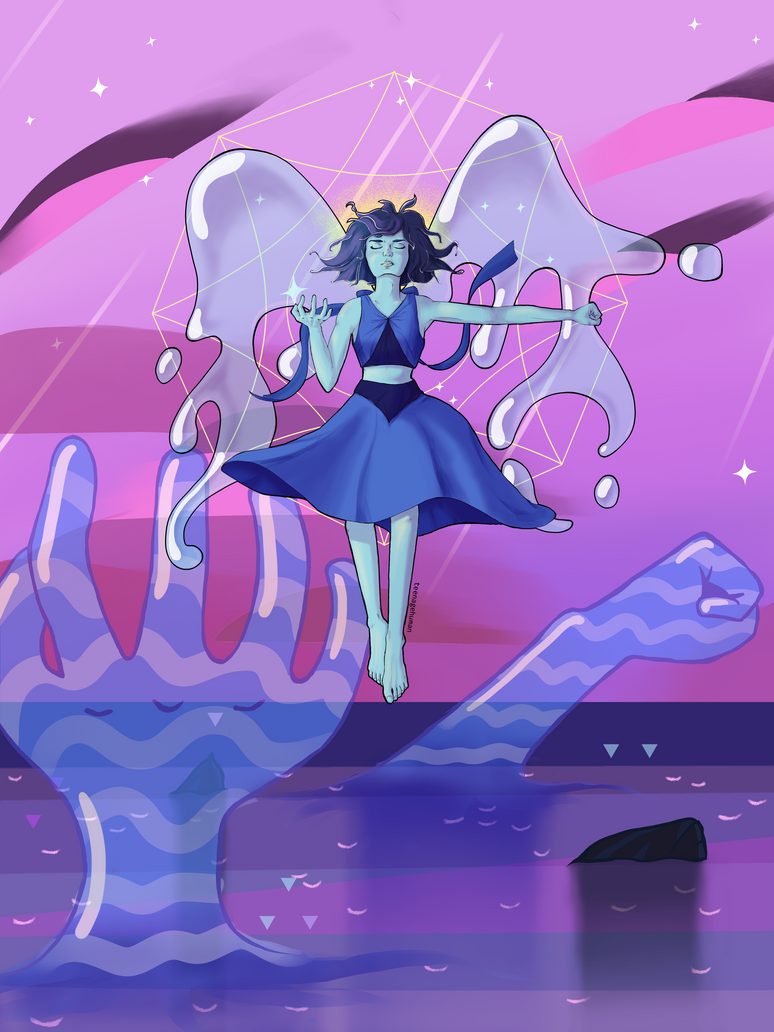 lapis lazuli by TeenageHuman