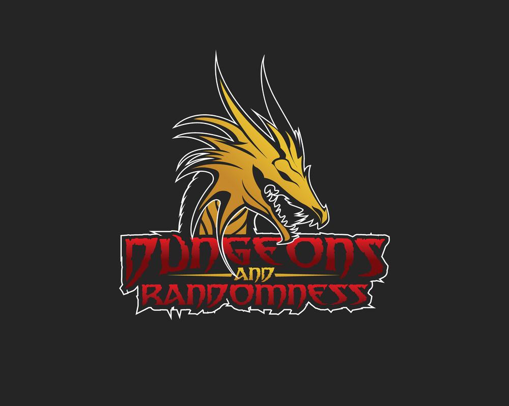 Dungeons-and-Randomness Logo Design by IncredibleLogoArts