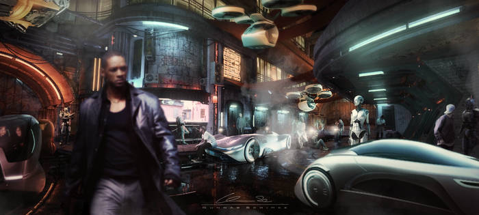 The Cyberpunk Trilogy - The Crossroad