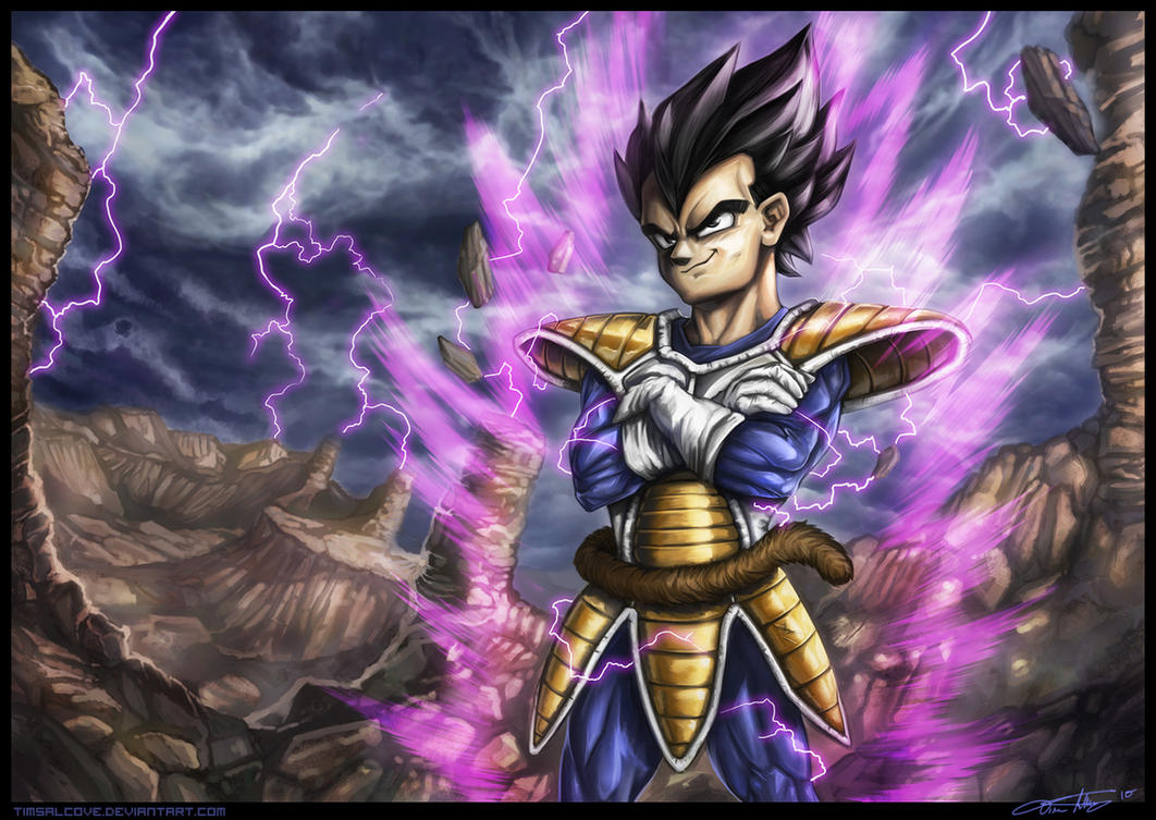 Prince vegeta by timsalcove on deviantart - Hd dragon ball z images ...