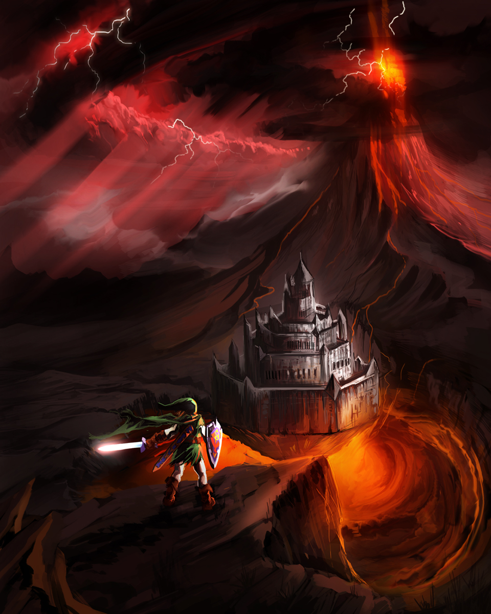 Ganon's Fortress by Timsalcove