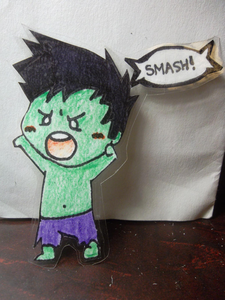 Chibi Hulk Cute Chibi Hulk by Radiationscare