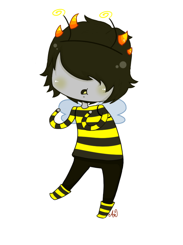 Mituna Bumble Bee by JiggleJello