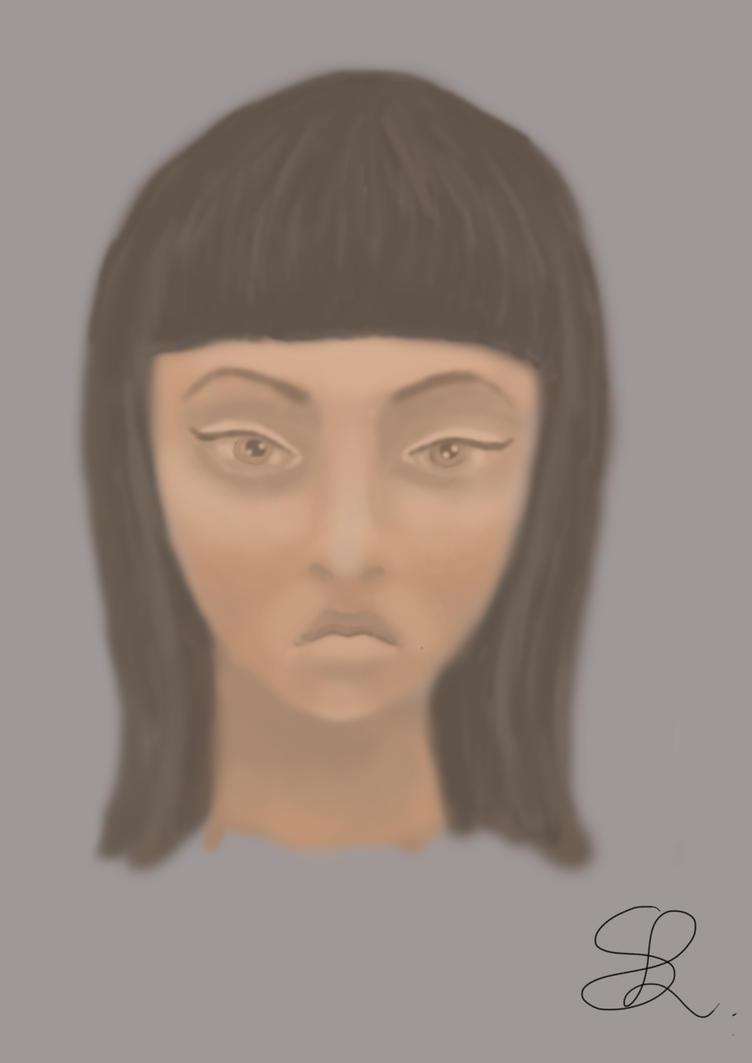 Angry girl by lamonsa