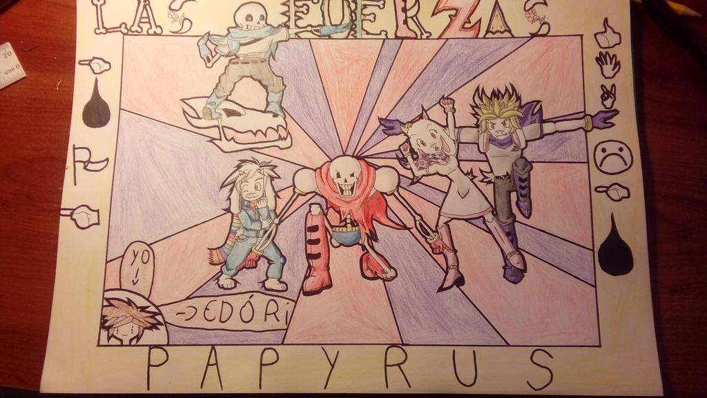 Las fuerzas especiales Papyrus NYEHEHEHEEH!!! by EdoriLagurozk