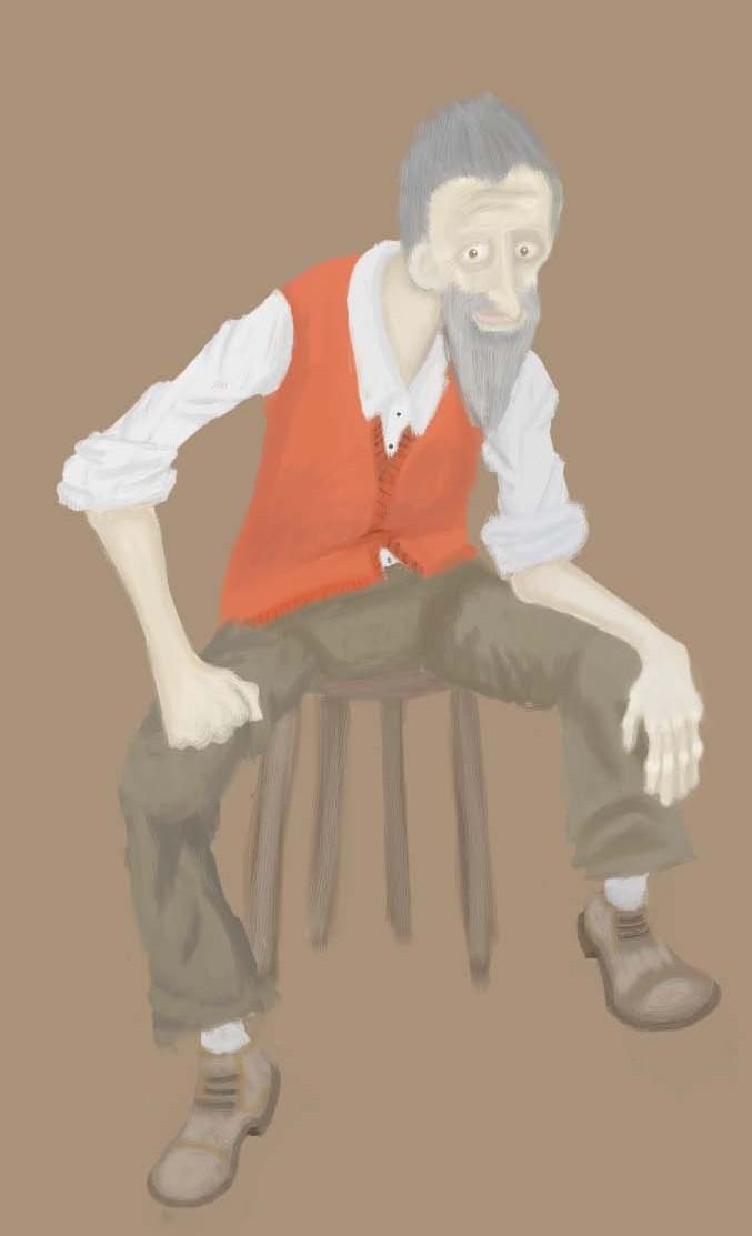 Old Man by JLai