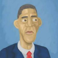 Obama by JLai